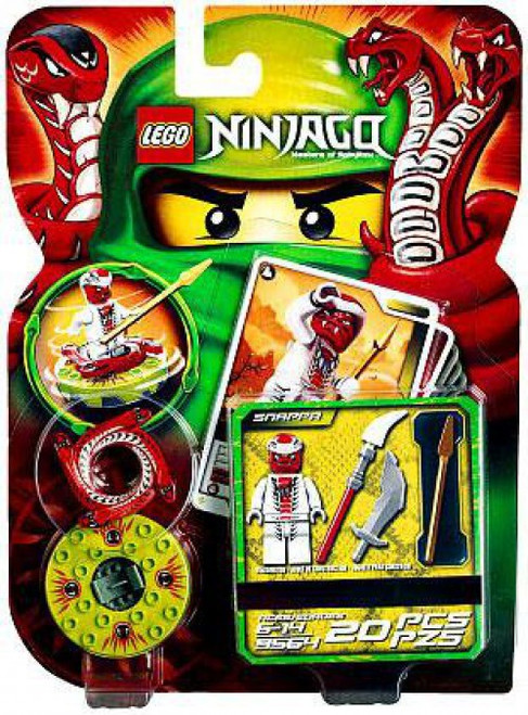 LEGO Ninjago Spinjitzu Spinners Snappa Set #9564