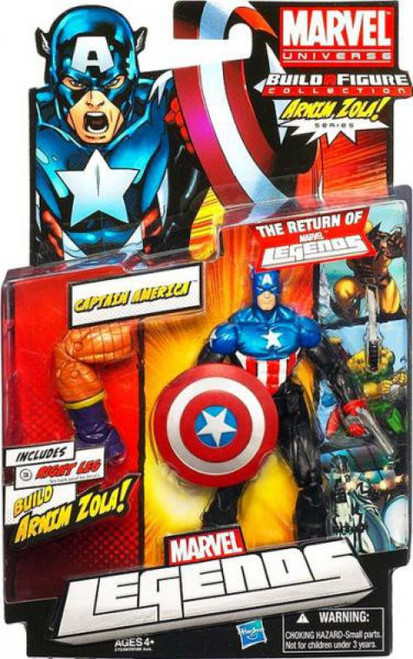 Marvel Legends Arnim Zola Series Captain America Action Figure