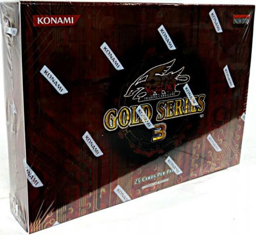 YuGiOh Trading Card Game 2010 Gold Series 3 Exclusive Booster Pack [25 Cards]