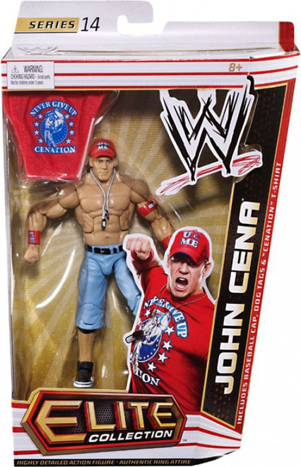 WWE Wrestling Elite Collection Series 14 John Cena Action Figure