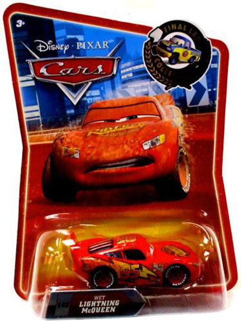 Disney / Pixar Cars Final Lap Collection Wet Lightning McQueen Exclusive Diecast Car