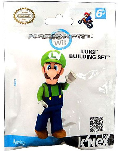 K'NEX Super Mario Mario Kart Wii Luigi Set #38027