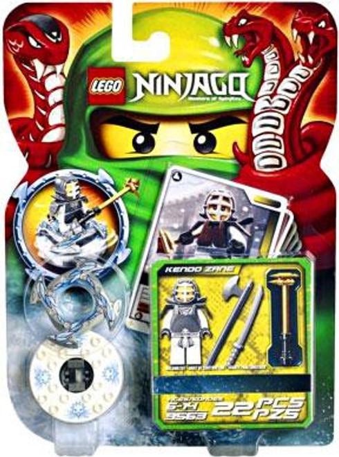 LEGO Ninjago Spinjitzu Spinners Kendo Zane Set #9563