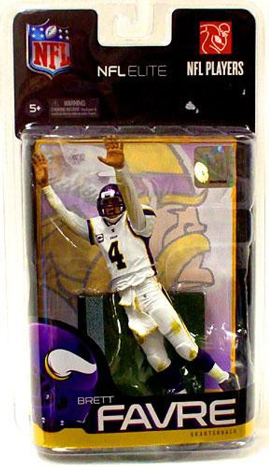McFarlane Toys NFL Minnesota Vikings Sports Picks Elite Series 1 Brett Favre Exclusive Action Figure