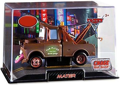 Disney / Pixar Cars Cars 2 1:43 Collectors Case Wasabi Mater Exclusive Diecast Car