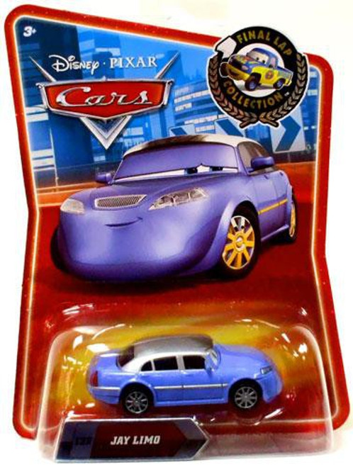 Disney / Pixar Cars Final Lap Collection Jay Limo Exclusive Diecast Car