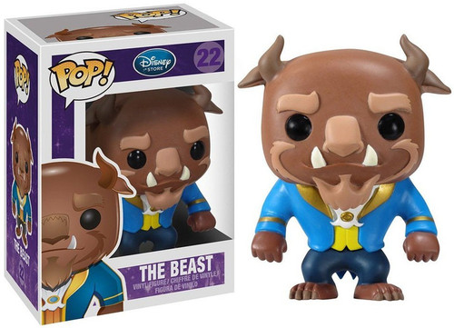Funko Beauty and the Beast POP! Disney Beast Vinyl Figure #22 [Animated Version]