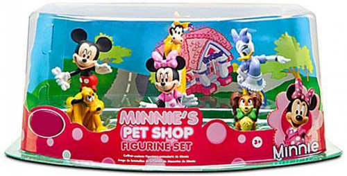 Disney Minnie's Pet Shop Exclusive 6-Piece PVC Figure Play Set