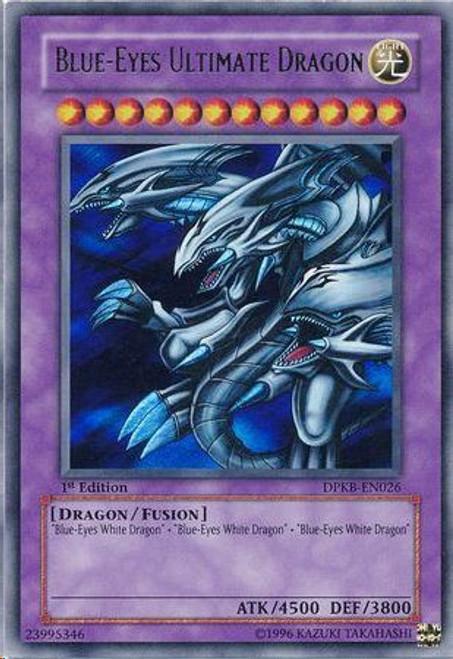 YuGiOh Duelist Pack Kaiba Ultra Rare Blue-Eyes Ultimate Dragon DPKB-EN026