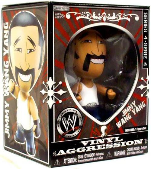 WWE Wrestling Vinyl Aggression Series 4 Jimmy Wang Yang 3-Inch Vinyl Figure
