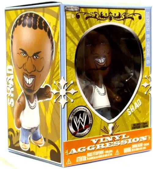 WWE Wrestling Vinyl Aggression Series 6 Shad 3-Inch Vinyl Figure