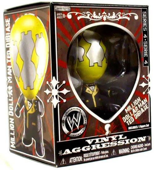 WWE Wrestling Vinyl Aggression Series 4 Million Dollar Man Ted Dibiase 3-Inch Vinyl Figure
