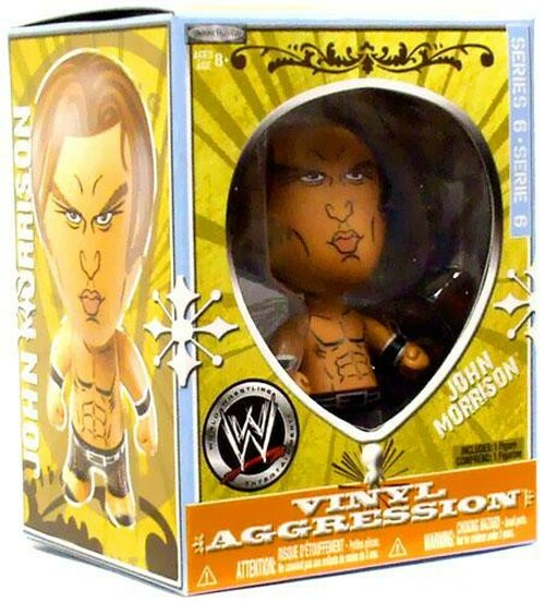 WWE Wrestling Vinyl Aggression Series 6 John Morrison 3-Inch Vinyl Figure