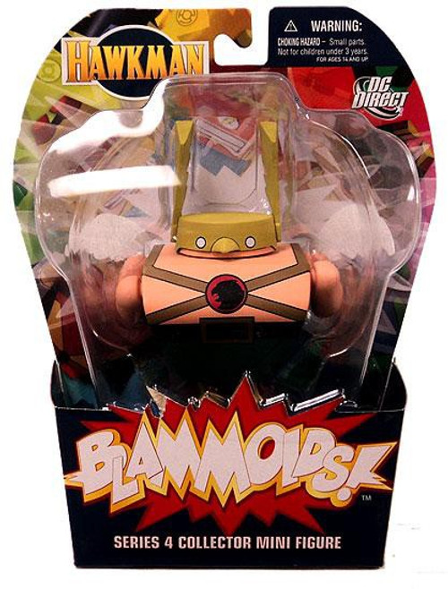 DC Blammoids Series 4 Hawkman Mini Figure