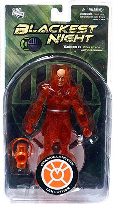 DC Green Lantern Blackest Night Series 8 Orange Lantern Lex Luthor Action Figure