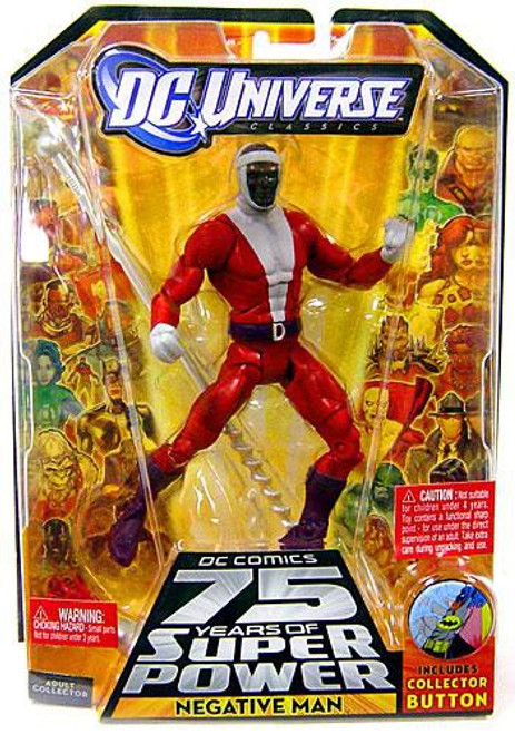 DC Universe 75 Years of Super Power Classics Trigon Series Negative Man Action Figure
