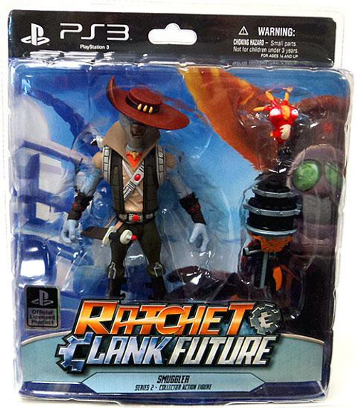 Ratchet and Clank Future Series 2 Smuggler Action Figure