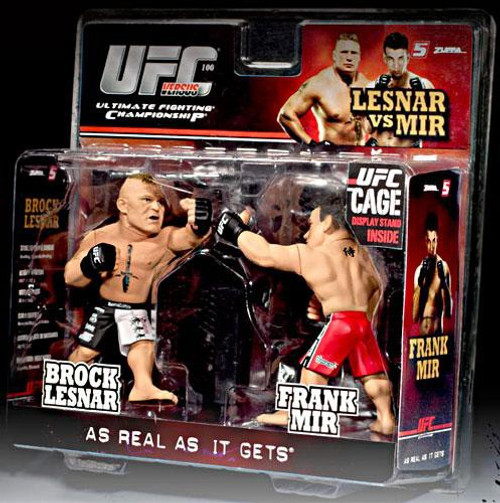 UFC Ultimate Collector Versus Series 1 Brock Lesnar vs. Frank Mir Action Figure 2-Pack