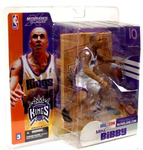 McFarlane Toys NBA Sacramento Kings Sports Picks Series 3 Mike Bibby Action Figure