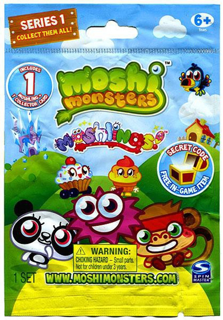 Moshi Monsters Moshlings Series 1 Mini Figure Single Pack