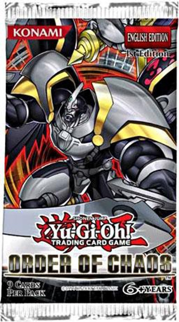 YuGiOh Trading Card Game Order of Chaos (1st Edition) Booster Pack [9 Cards]