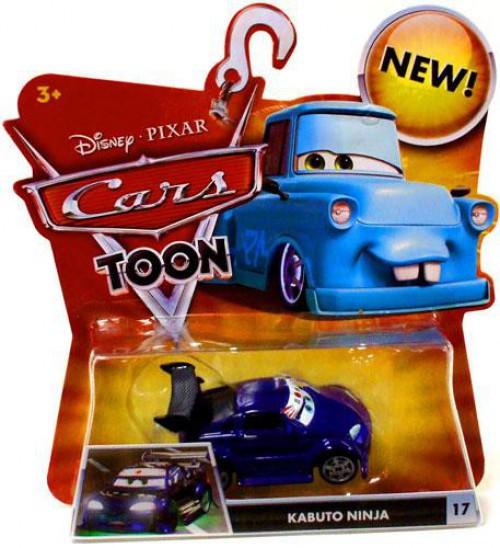 Disney / Pixar Cars Cars Toon Main Series Kabuto Ninja Diecast Car #17