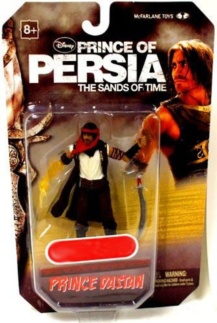 McFarlane Toys Prince of Persia The Sands of Time 4 Inch Prince Dastan Exclusive Action Figure [Translucent Arm]