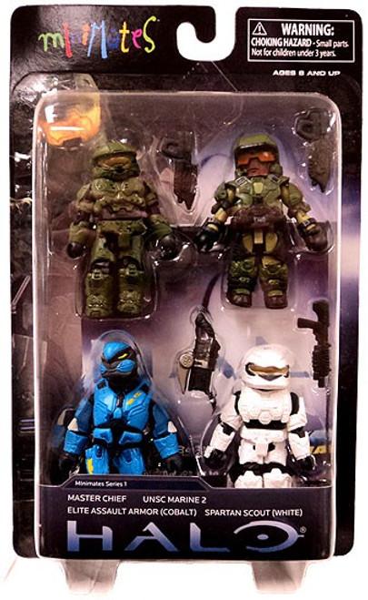 Halo 3 Minimates Series 1 Exclusive Minifigure 4-Pack