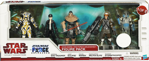 Star Wars Legacy Collection 2010 The Force Unleashed Figure Pack Exclusive Action Figure #1 [1 of 2]