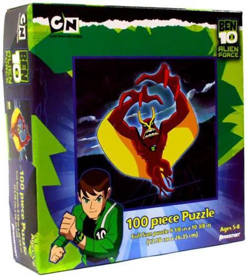 Ben 10 Alien Force Jet Ray Puzzle [100 pieces]