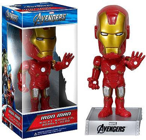 Funko Marvel Avengers Wacky Wobbler Iron Man Bobble Head