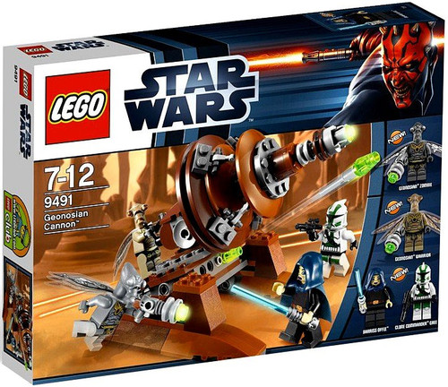 LEGO Star Wars The Clone Wars Geonosian Cannon Set #9491