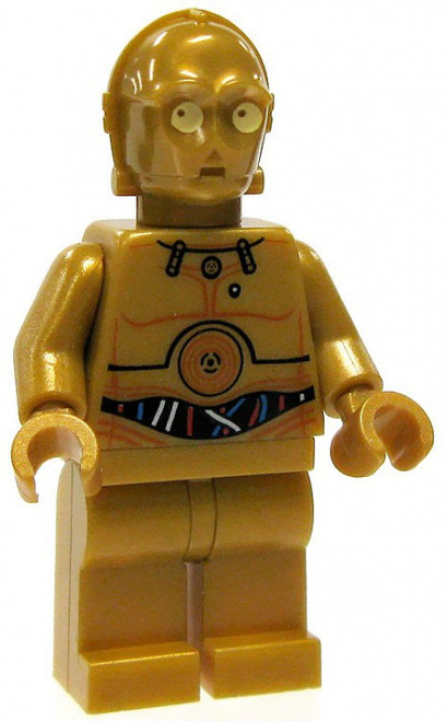 LEGO Star Wars C-3PO Minifigure [Color Printed Details Loose]