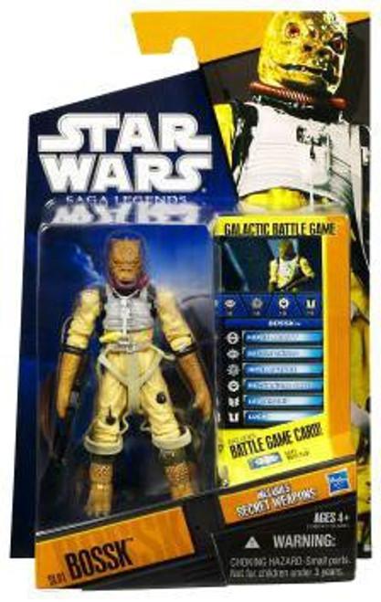 Star Wars The Empire Strikes Back Saga Legends 2010 Bossk Action Figure #1