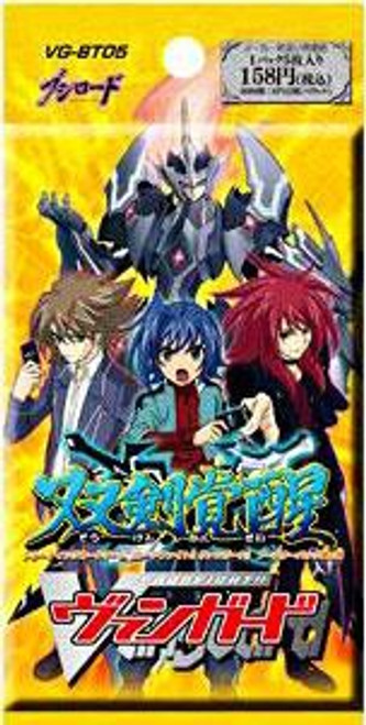 Cardfight Vanguard Trading Card Game Awakening of Twin Blades Booster Pack [Japanese]