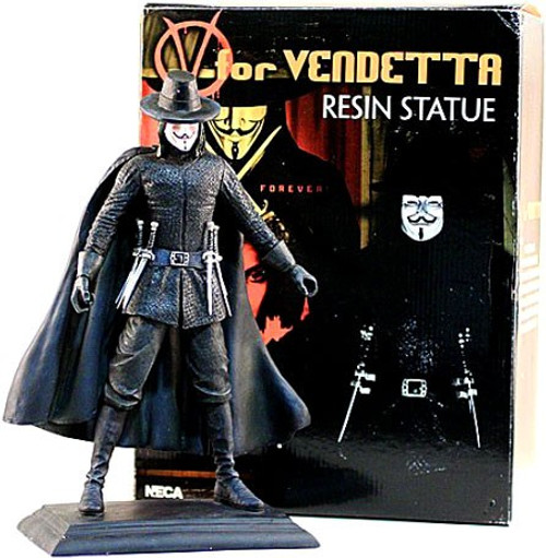 NECA V for Vendetta V 12-Inch Resin Statue