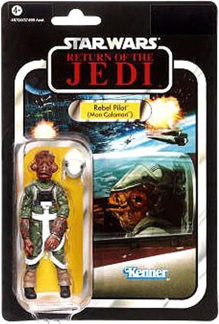 Star Wars Return of the Jedi 2012 Vintage Collection Rebel Pilot Action Figure #91 [Mon Calamari]