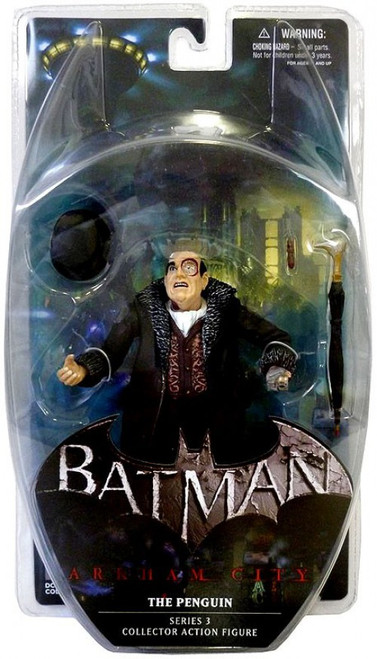Batman Arkham City Series 3 The Penguin Action Figure