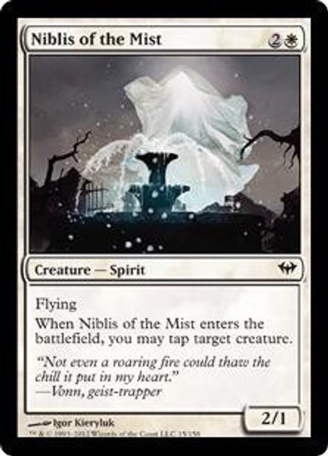 MtG Dark Ascension Common Niblis of the Mist #15