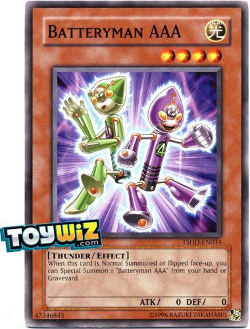 YuGiOh YuGiOh 5D's The Shining Darkness Common Batteryman AAA TSHD-EN034