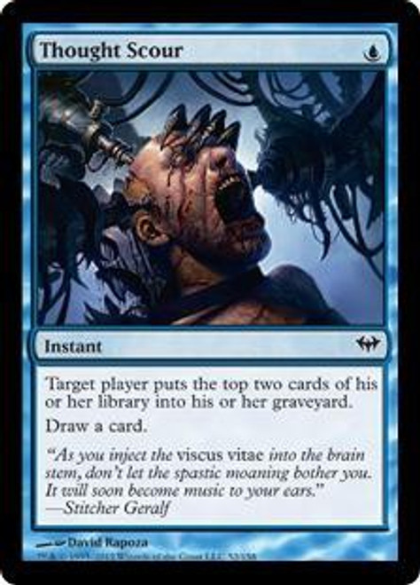 MtG Dark Ascension Common Thought Scour #52