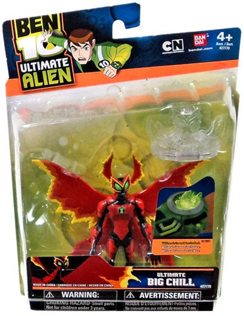 Ben 10 Ultimate Alien Ultimate Big Chill Action Figure