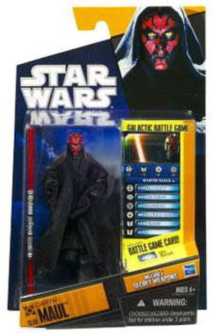 Star Wars Phantom Menace Saga Legends 2010 Darth Maul Action Figure SL08