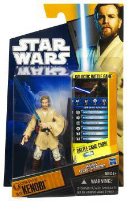 Star Wars Revenge of the Sith Saga Legends 2010 Obi-Wan Kenobi Action Figure SL12