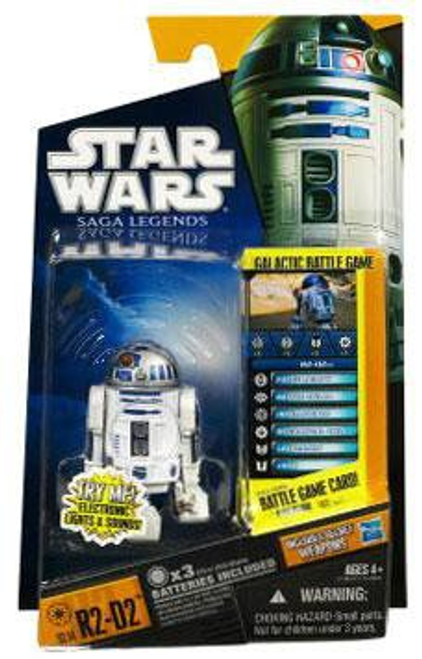 Star Wars A New Hope Saga Legends 2010 R2-D2 Action Figure SL14