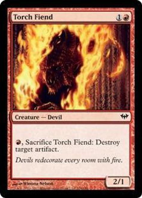 MtG Dark Ascension Common Torch Fiend #106