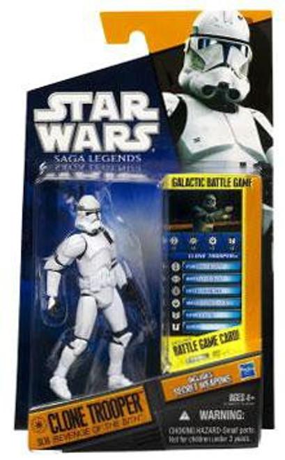 Star Wars Revenge of the Sith 2010 Saga Legends Clone Trooper Action Figure SL16 [Revenge of the Sith]