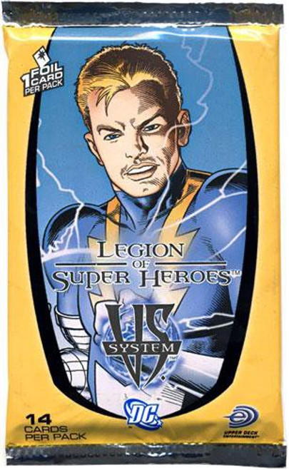 DC VS System Trading Card Game Legion of Super Heroes Booster Pack [14 Cards]