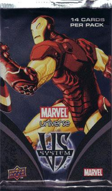 VS System Trading Card Game Marvel Universe Booster Pack