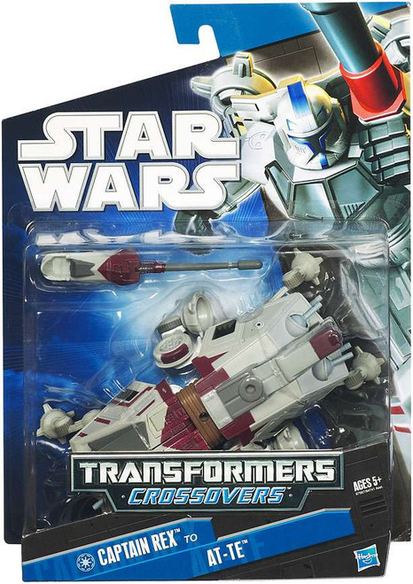 Star Wars The Clone Wars 2010 Transformers Crossovers Tank Gunner to AT-TE Action Figure